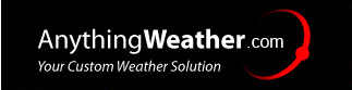 Anything Weather logo